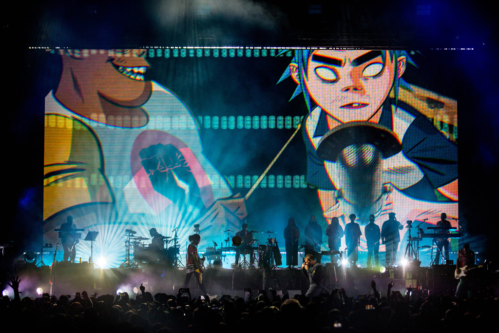 4I0A7091 Gorillaz The Now Now Tour at United Center show was a powerhouse of hits