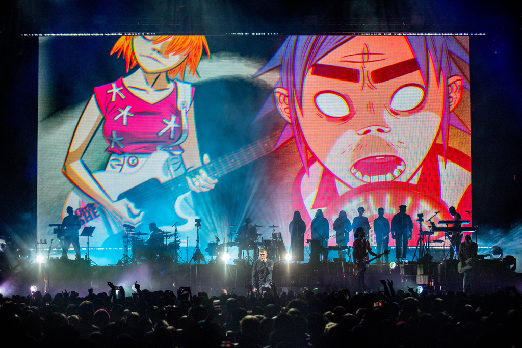 4I0A7096 Gorillaz The Now Now Tour at United Center show was a powerhouse of hits