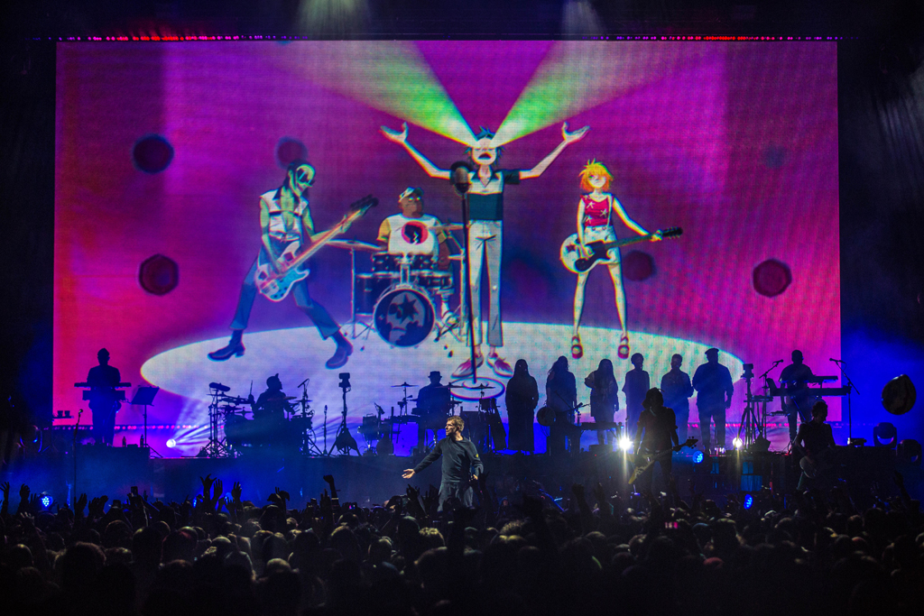 4I0A7146 Gorillaz The Now Now Tour at United Center show was a powerhouse of hits