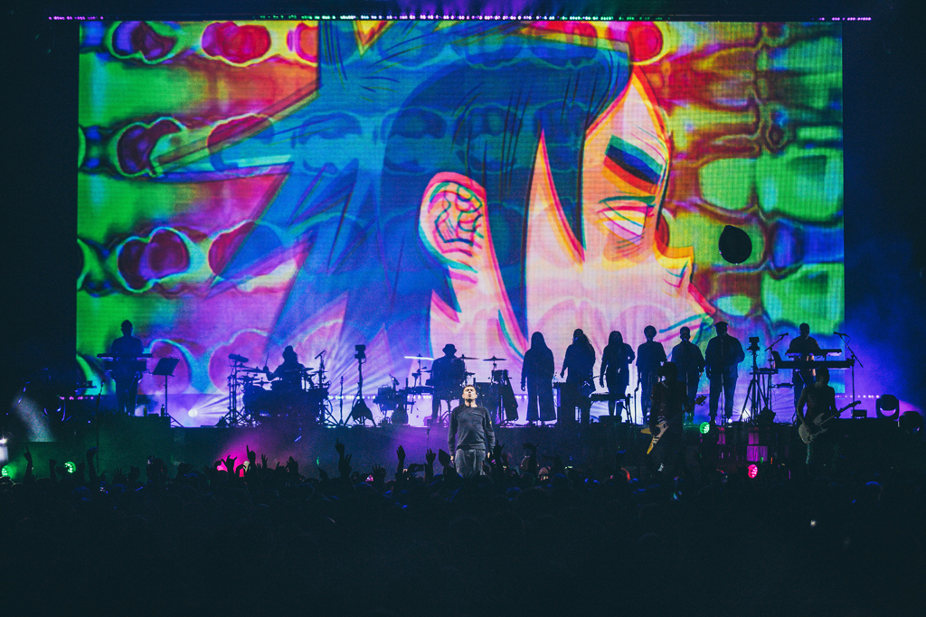 4I0A7160 Gorillaz The Now Now Tour at United Center show was a powerhouse of hits
