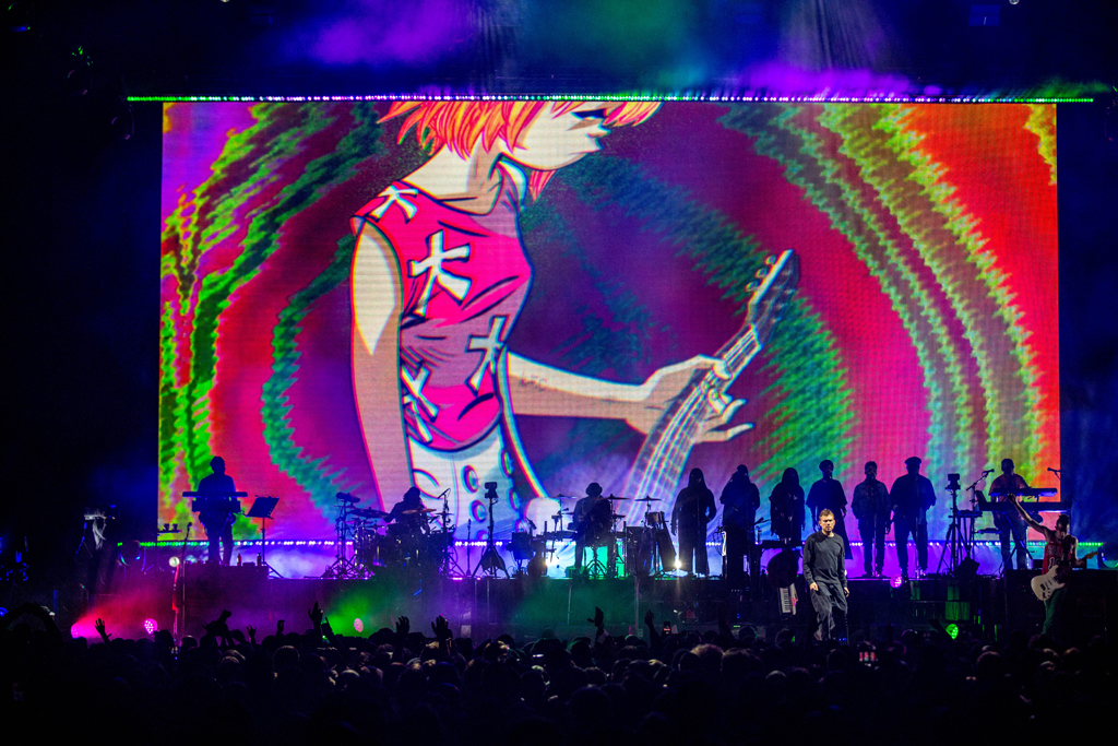 4I0A7176 Gorillaz The Now Now Tour at United Center show was a powerhouse of hits