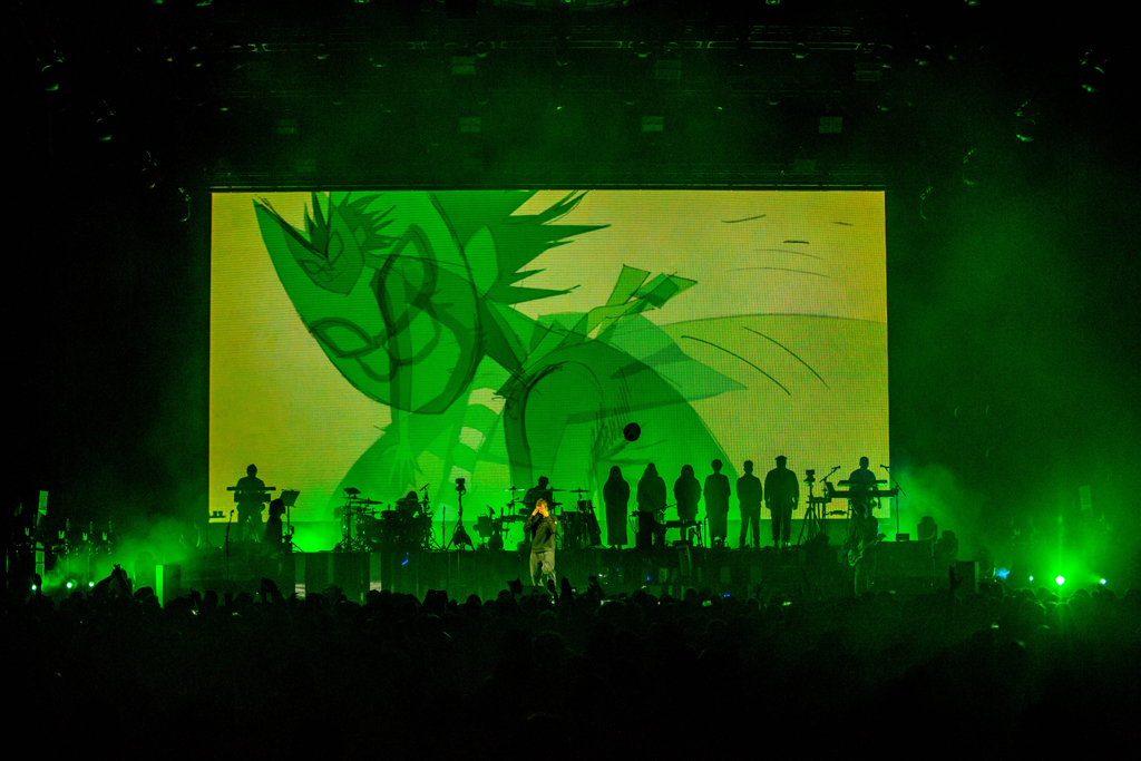 4I0A7245 Gorillaz The Now Now Tour at United Center show was a powerhouse of hits