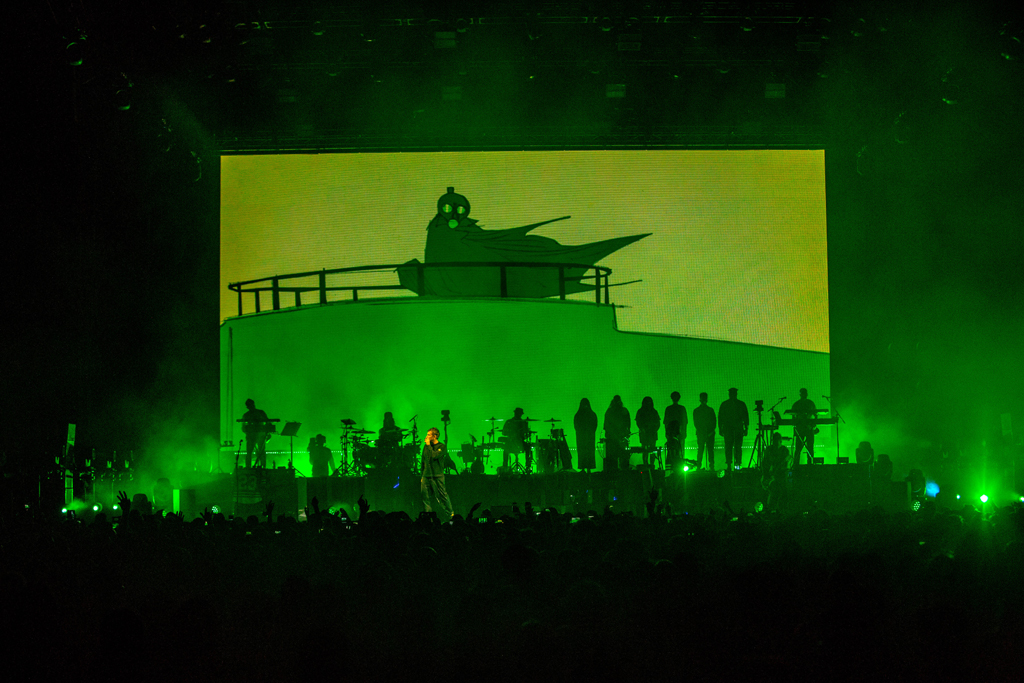 4I0A7251 Gorillaz The Now Now Tour at United Center show was a powerhouse of hits