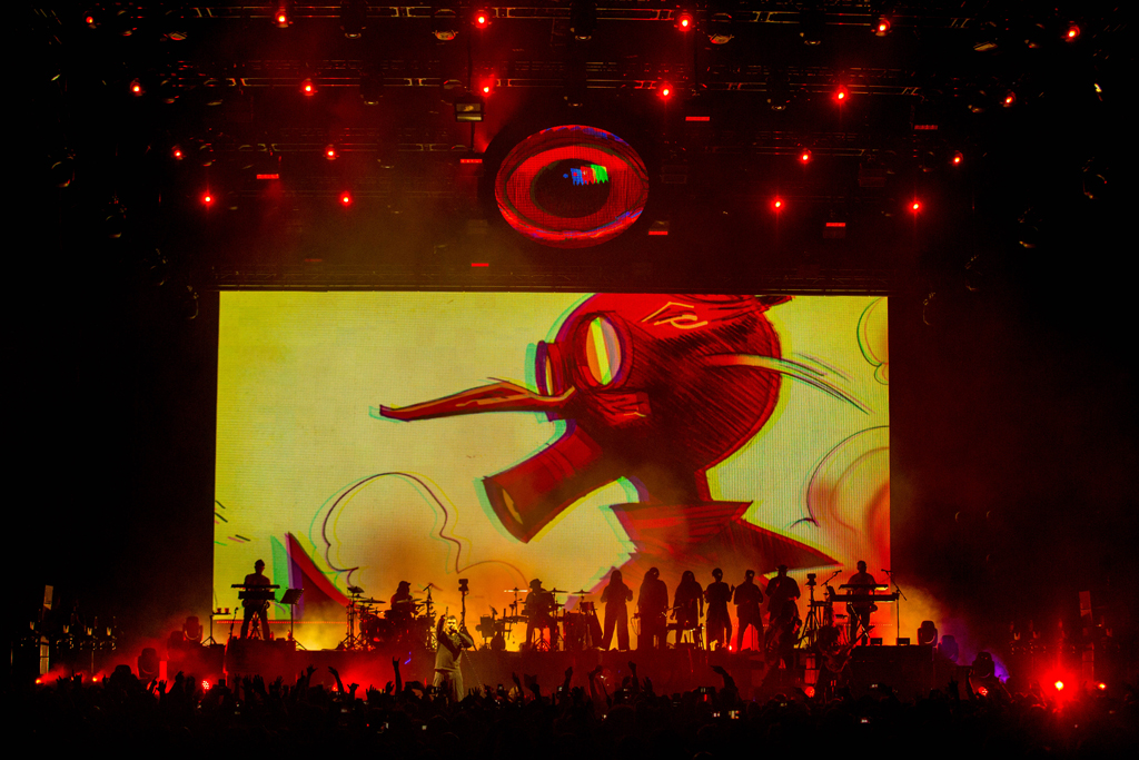 4I0A7266 Gorillaz The Now Now Tour at United Center show was a powerhouse of hits