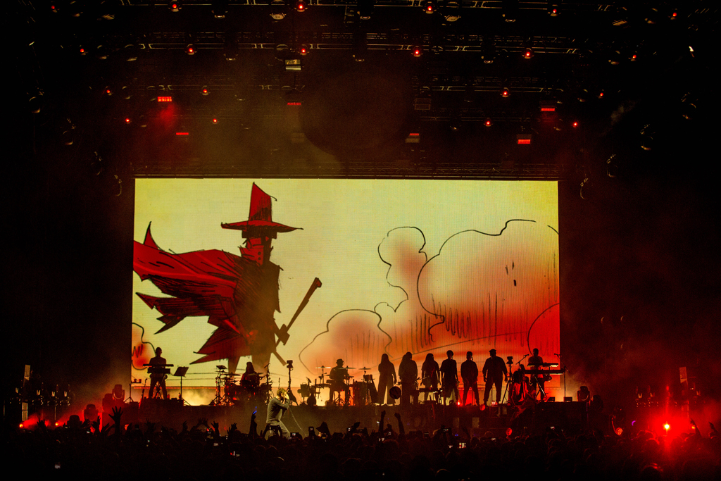 4I0A7273 Gorillaz The Now Now Tour at United Center show was a powerhouse of hits