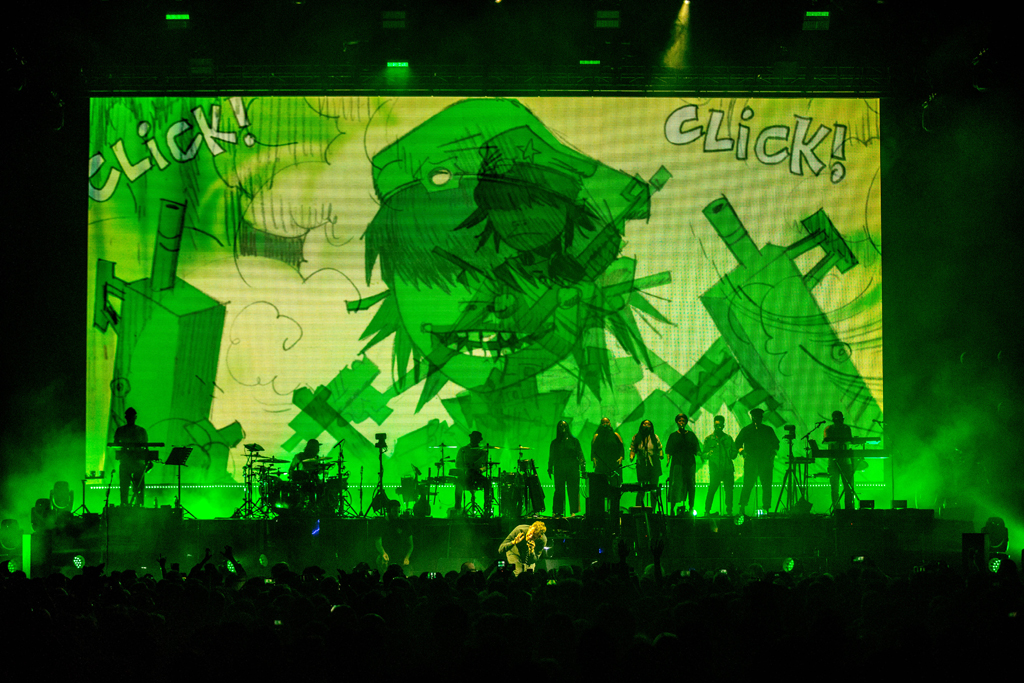 4I0A7278 Gorillaz The Now Now Tour at United Center show was a powerhouse of hits