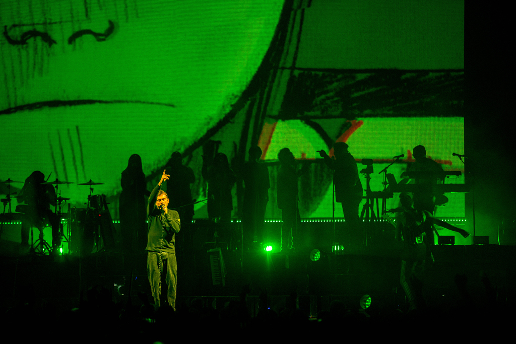4I0A7341 Gorillaz The Now Now Tour at United Center show was a powerhouse of hits