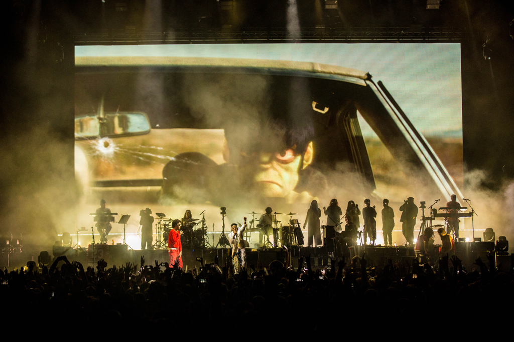4I0A7538 Gorillaz The Now Now Tour at United Center show was a powerhouse of hits
