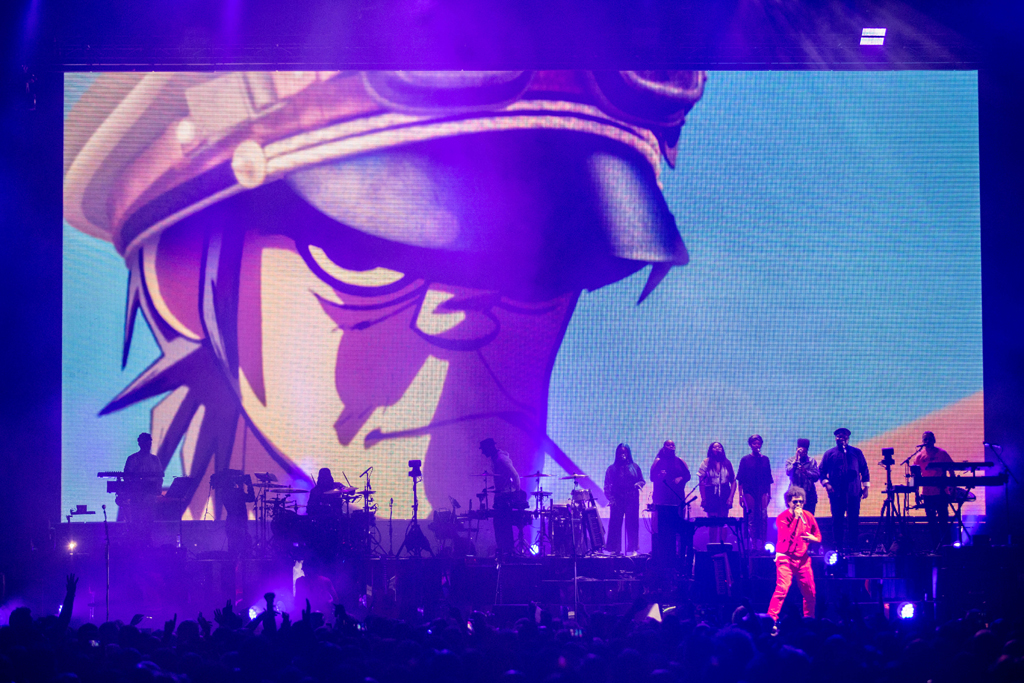 4I0A7779 Gorillaz The Now Now Tour at United Center show was a powerhouse of hits