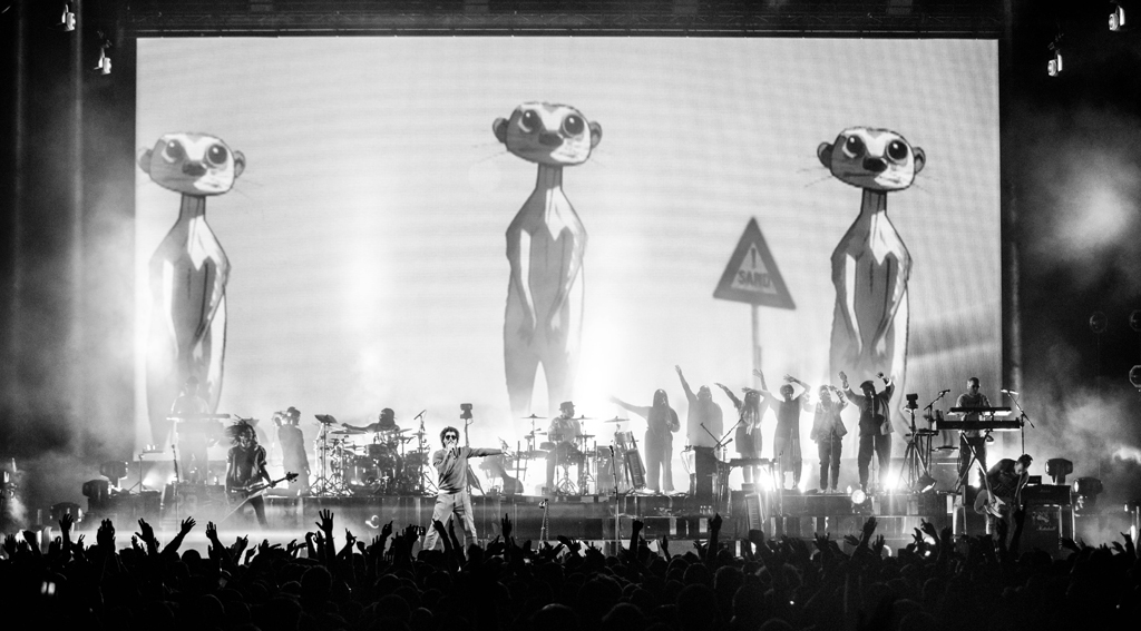 4I0A7796 Gorillaz The Now Now Tour at United Center show was a powerhouse of hits