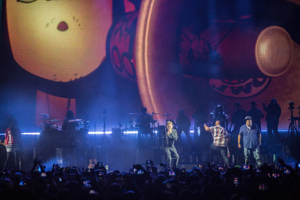 4I0A7847 Gorillaz The Now Now Tour at United Center show was a powerhouse of hits