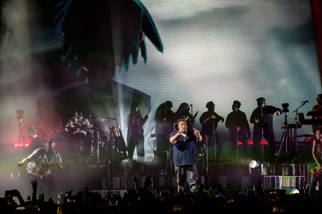 4I0A7916 Gorillaz The Now Now Tour at United Center show was a powerhouse of hits
