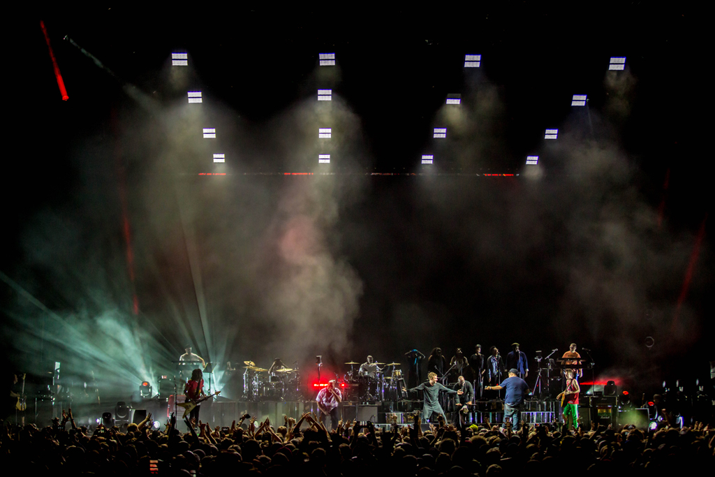 4I0A8028 Gorillaz The Now Now Tour at United Center show was a powerhouse of hits