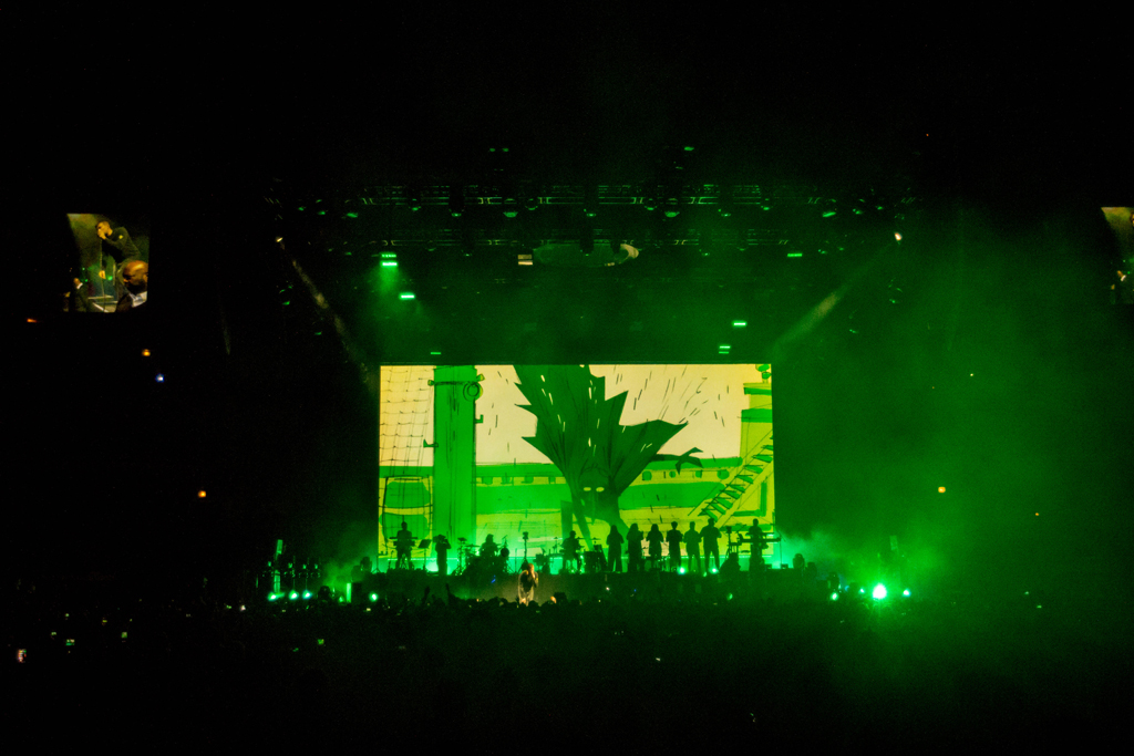 IMG 1119 Gorillaz The Now Now Tour at United Center show was a powerhouse of hits