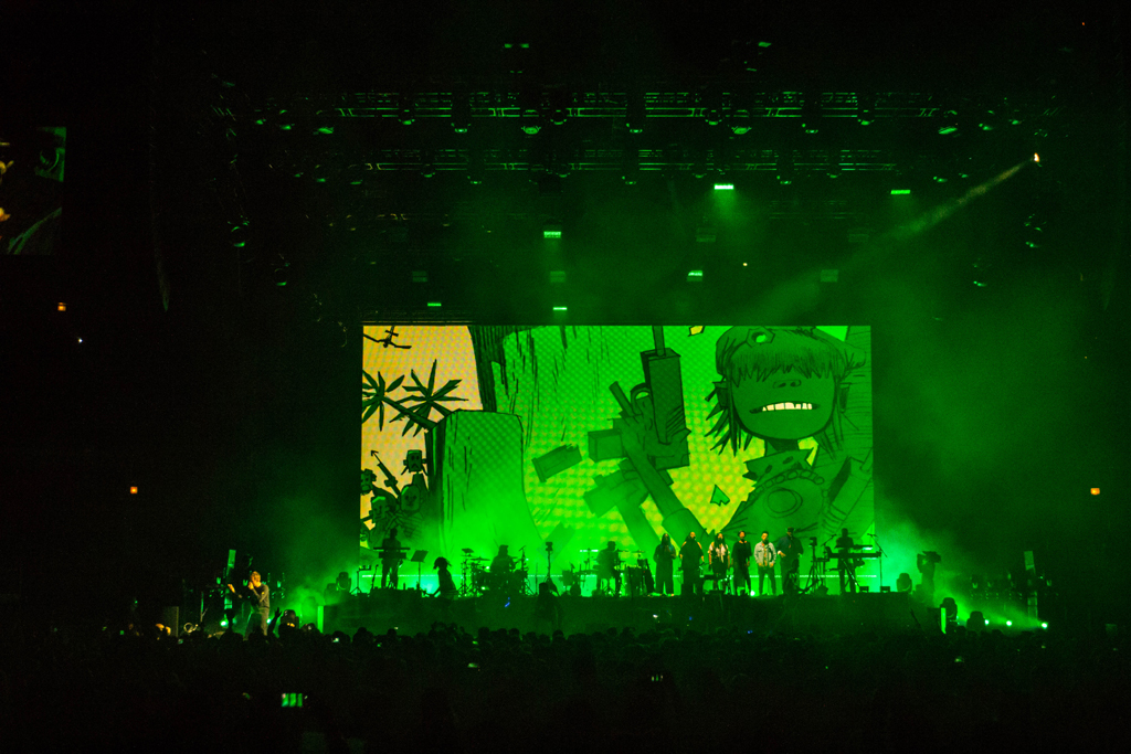 IMG 1135 Gorillaz The Now Now Tour at United Center show was a powerhouse of hits