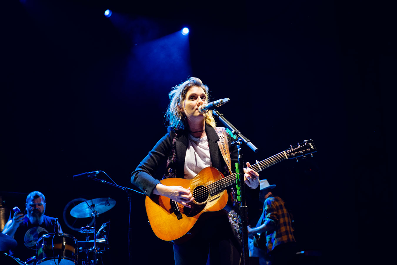 Brandi Carlile. Huntington Bank Pavilion Chicago. Photo by Shannon Guest.